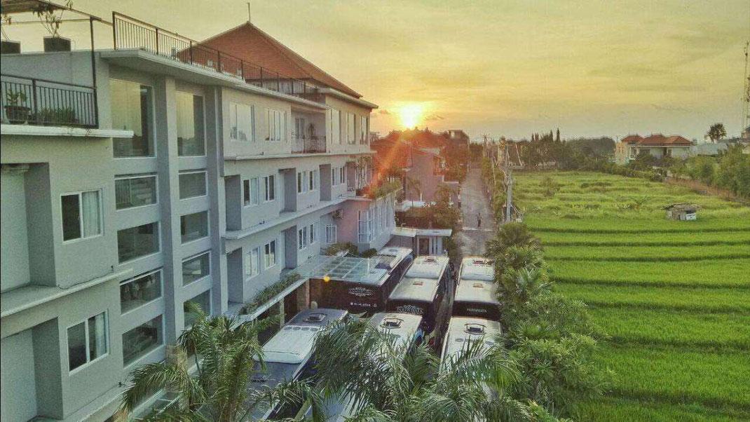 Dijual hotel di Kerobokan/Denpasar
