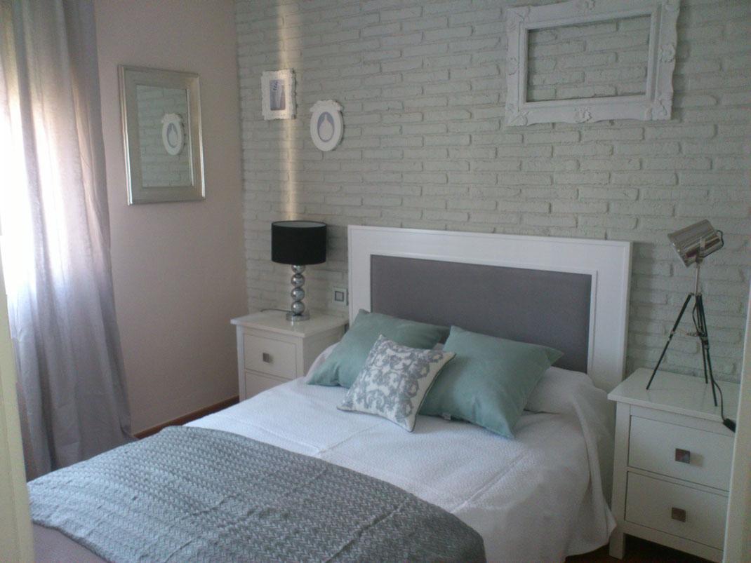 Panel Piedra - Serie Brick - Ladrillo Rustico Blanco - Neue Schlafzimmer