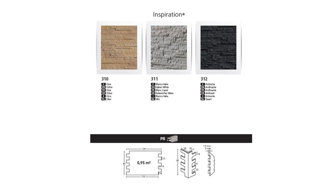 Steinpaneele PanelPiedra Kunststeinpaneele Wandverkleidung Classic