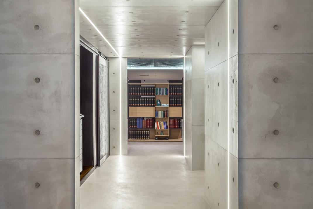CONCRETE LCDA - Panbeton Banché 15 mm - Wand und Deckenverkleidung