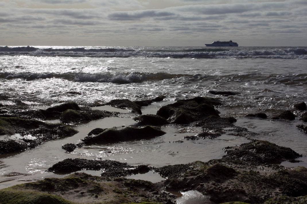 Iš Madeiros į Porto Santą kasdien plaukioja keltai / Foto: Kristina Stalnionytė