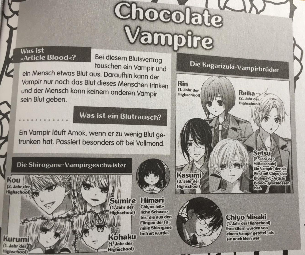 Chocolate Vampire © Tokyopop