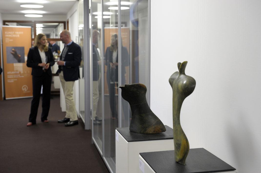 links: Der Kuss, rechts:  Mein Loplop / für Max Ernst / Oiselettes