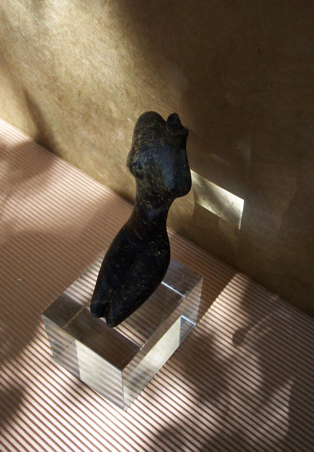 Heidrun Feistner: Erinnerung an Ägypten / Stein / Foto HF