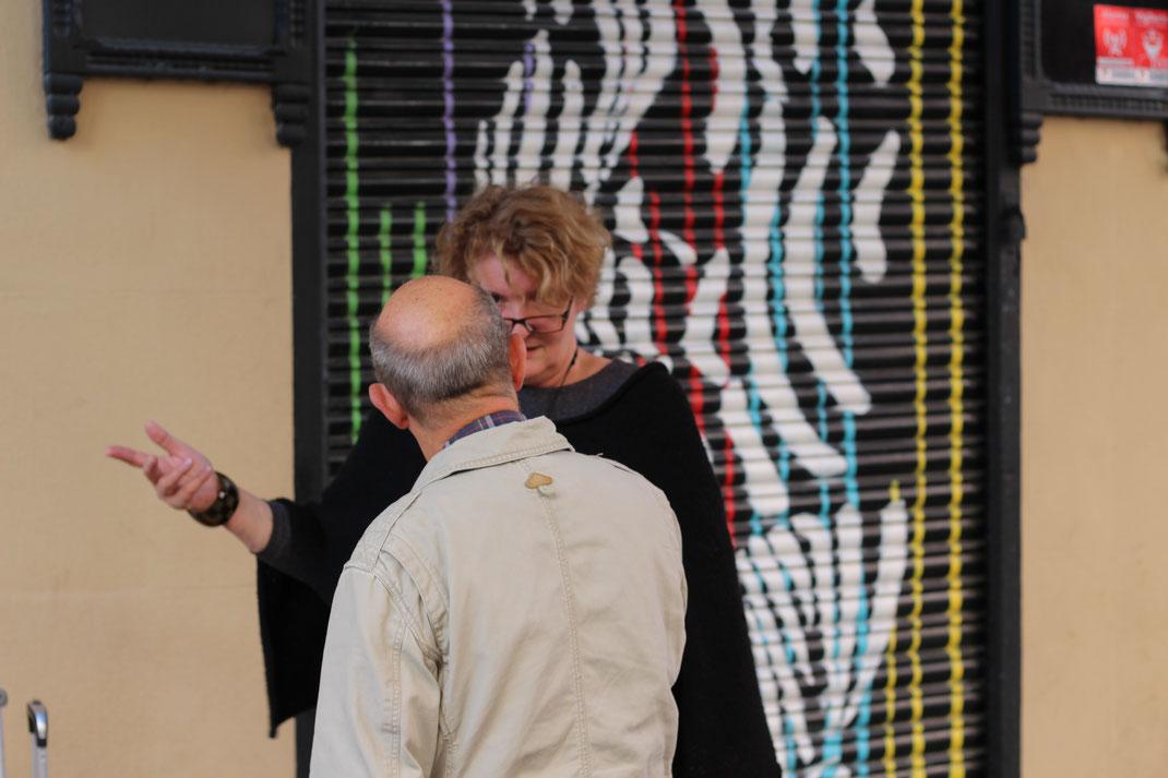 Heidrun Feistner: Ausstellung Madrid Eka& Moor