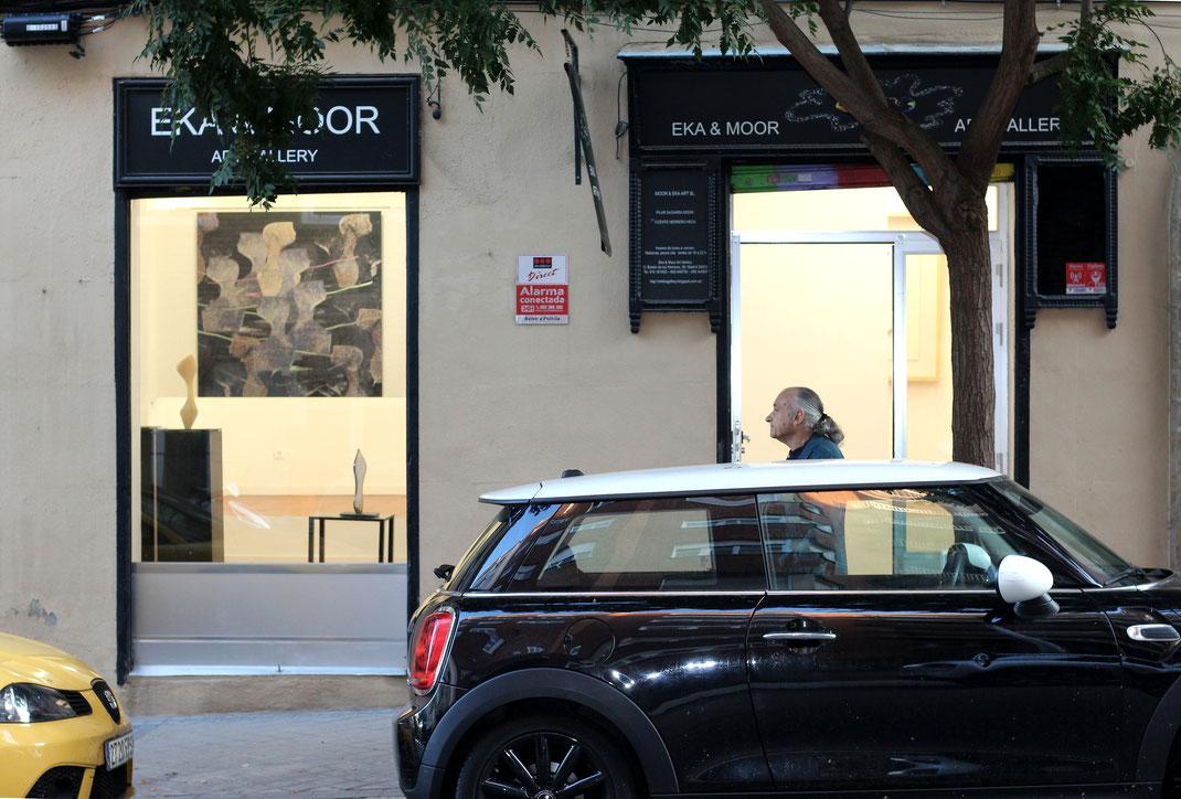 Heidrun Feistner: Ausstellung Madrid Eka& Moor / Foto HF