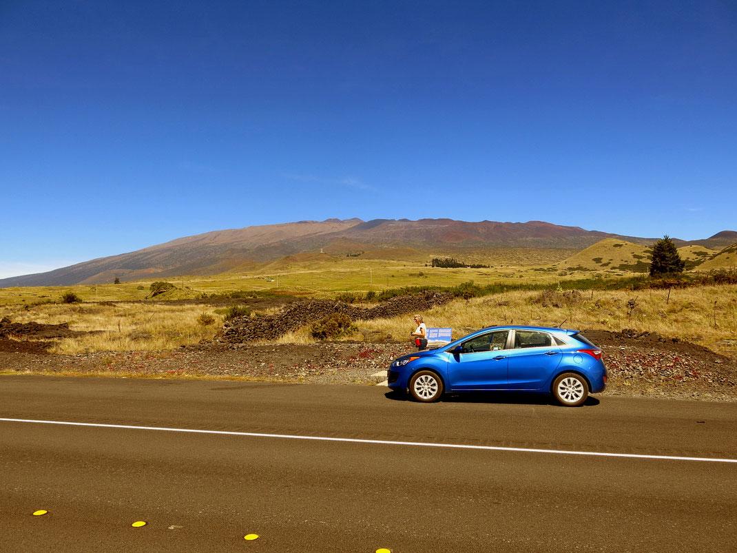 Der Mauna Kea ist 4.241 Meter hoch, vom Meeregrund aus 10.203 Meter.