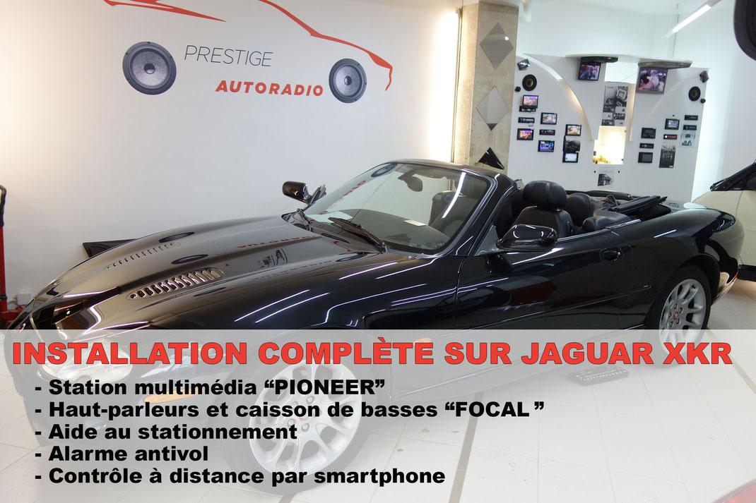Installation complète autoradio, hifi, alarme antivol, aide au stationnement par Prestige Autoradio Paris