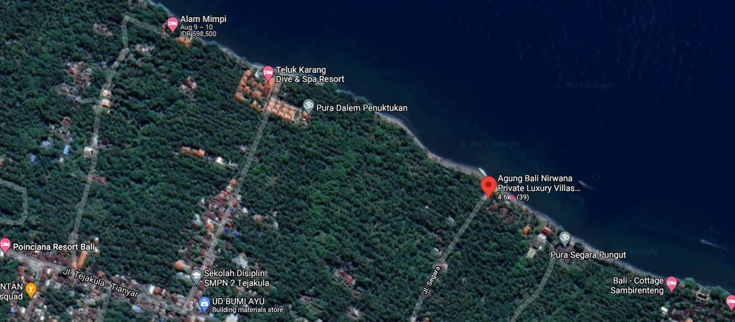 North East bali resort for sale