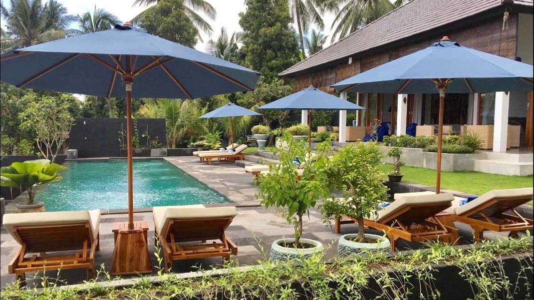 North Bali mountain villa for sale with yoga pavilion