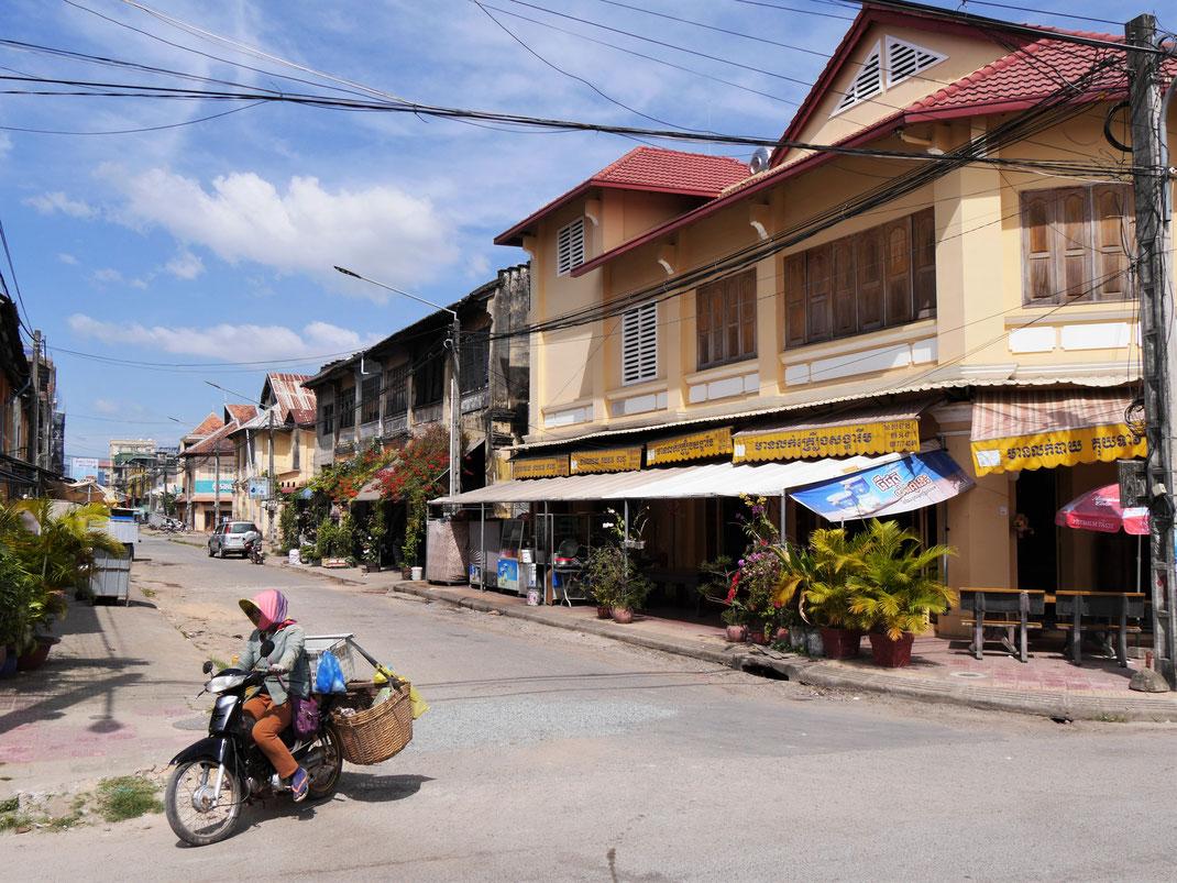 Was für ein gemächliches Treiben... Kampot, Kambodscha (Foto Jörg Schwarz)