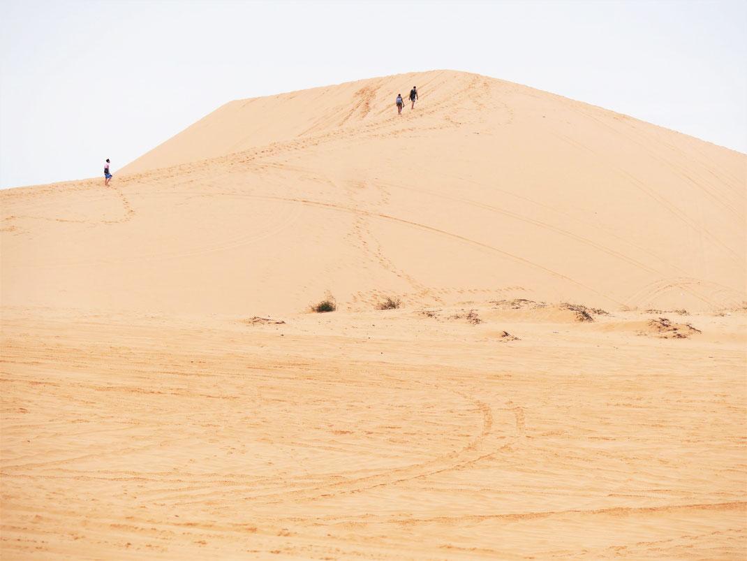Die weißen Dünen von Mui Ne, Vietnam (Foto Jörg Schwarz)