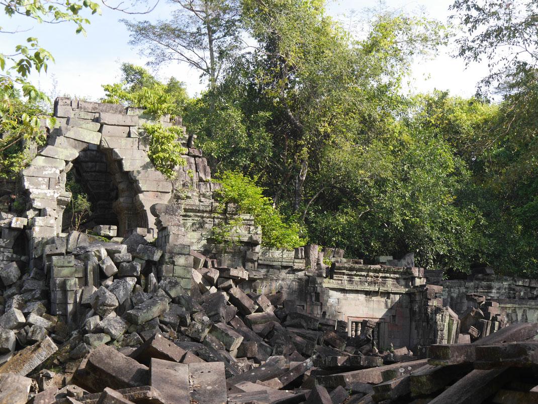 Am wohl höchsten Punkt, Ta Keo, Kambodscha (Foto Jörg Schwarz)