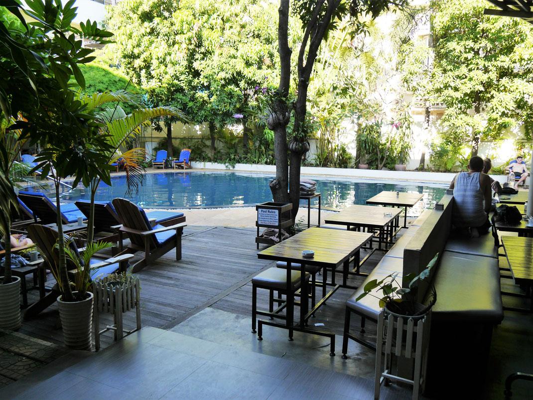 Zurück in unserem Hotel in Phnom Penh: The Billabong Hotel, Phnom Penh, Kambodscha (Foto Jörg Schwarz)