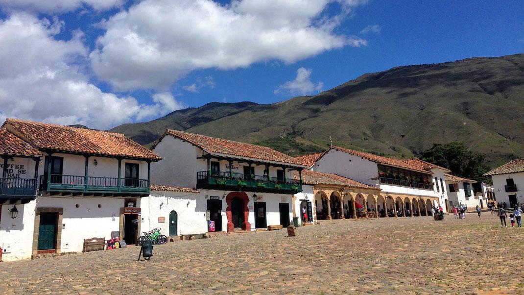 Das koloniale Schmuckstück Villa de Leyva vor dem Parámo de Iguaque, Villa de Leyva, Kolumbien (Foto Jörg Schwarz)