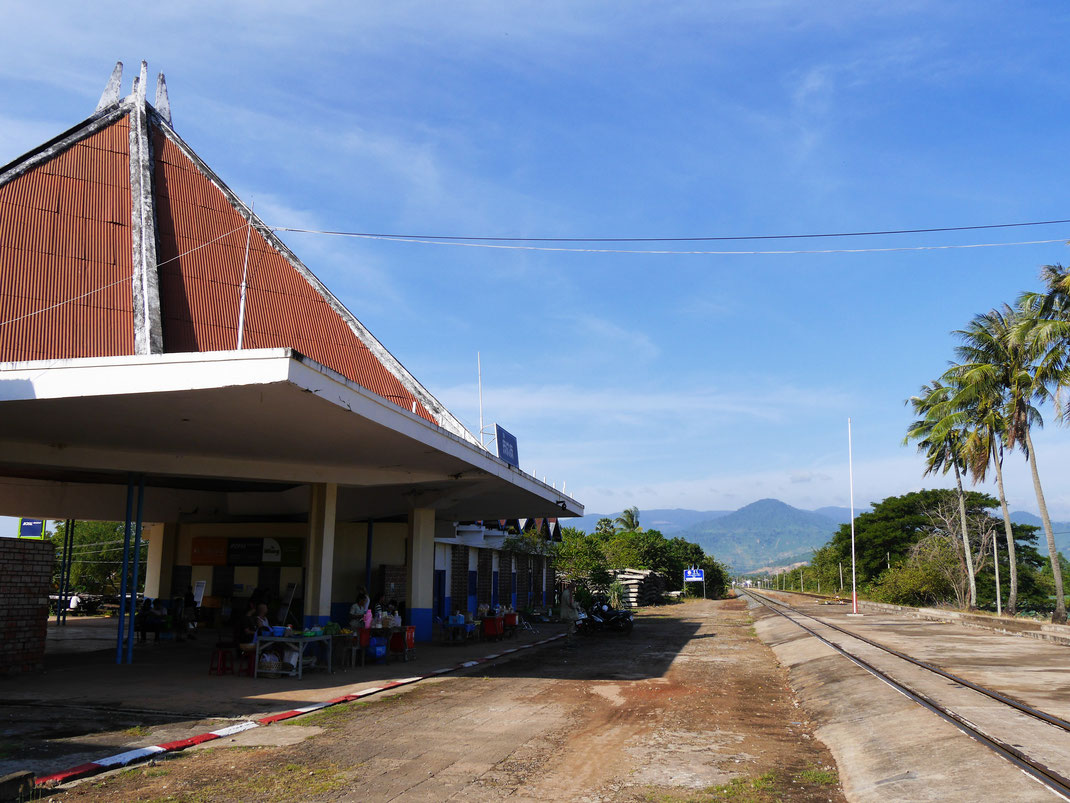 Am Bahnhof von Kampot, Kampot, Kambodscha (Foto Jörg Schwarz)