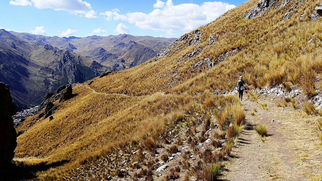 Der Weg zurück nach Huancavelica, Huancavelica, Peru (Foto Jörg Schwarz)