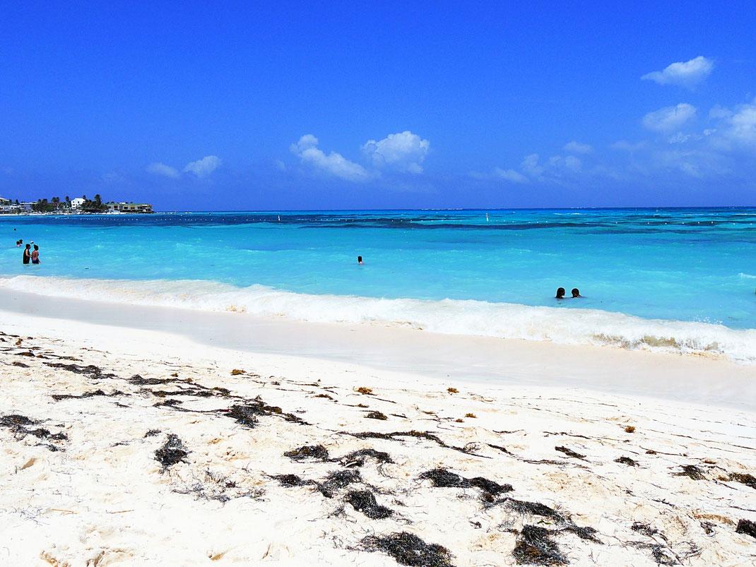 Kann es schönere Farben im Meer geben? San Andrés, Kolumbien (Foto Jörg Schwarz)