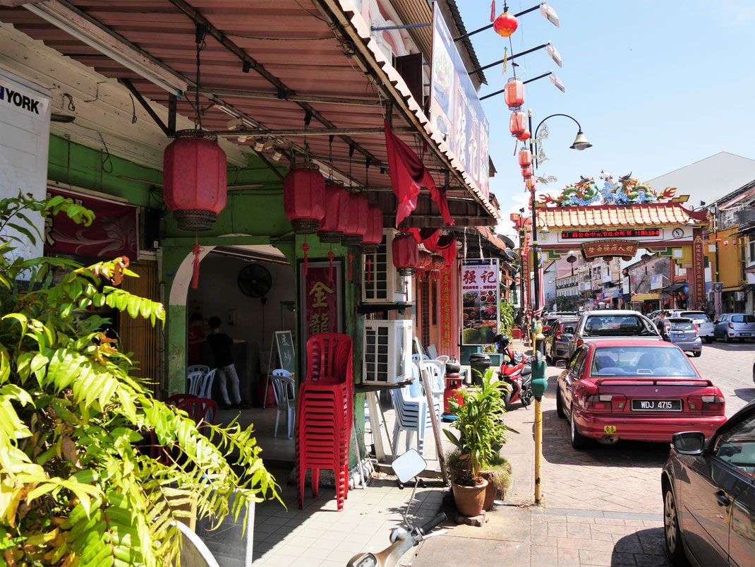 Unverkennbar Chinatown, Terengganu, Malaysia (Foto Jörg Schwarz)