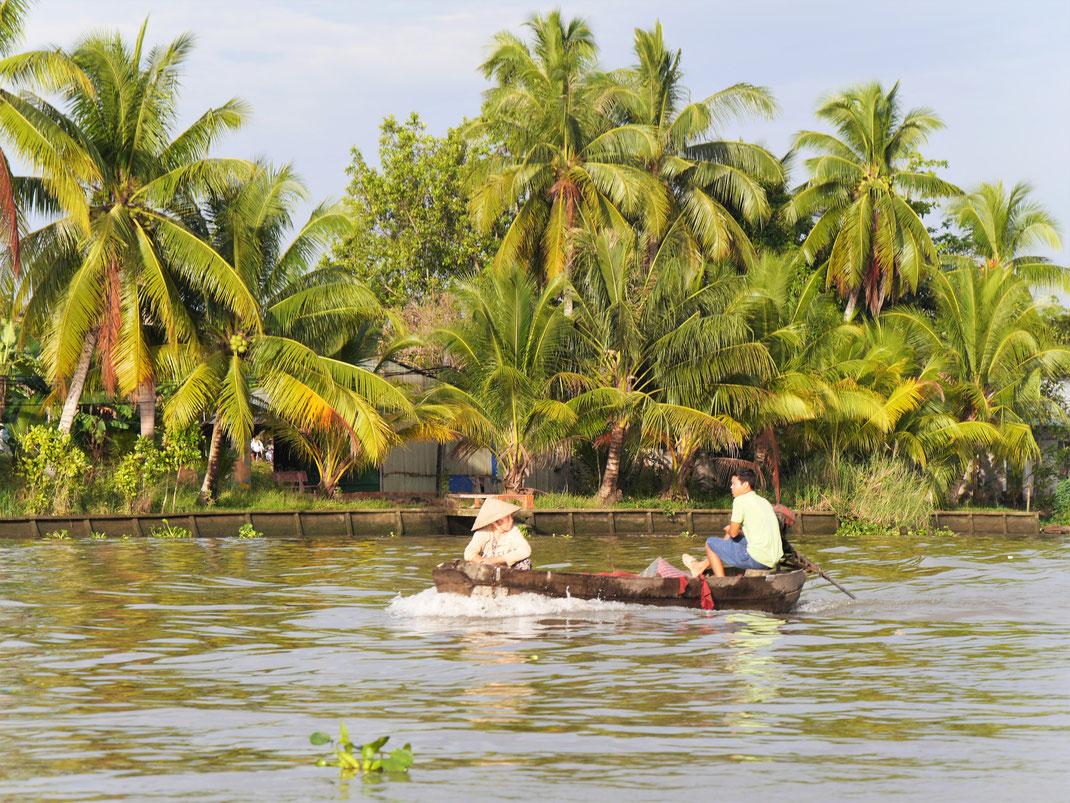 Im Mekongdelta, bei Can Tho, Vietnam (Foto Jörg Schwarz)