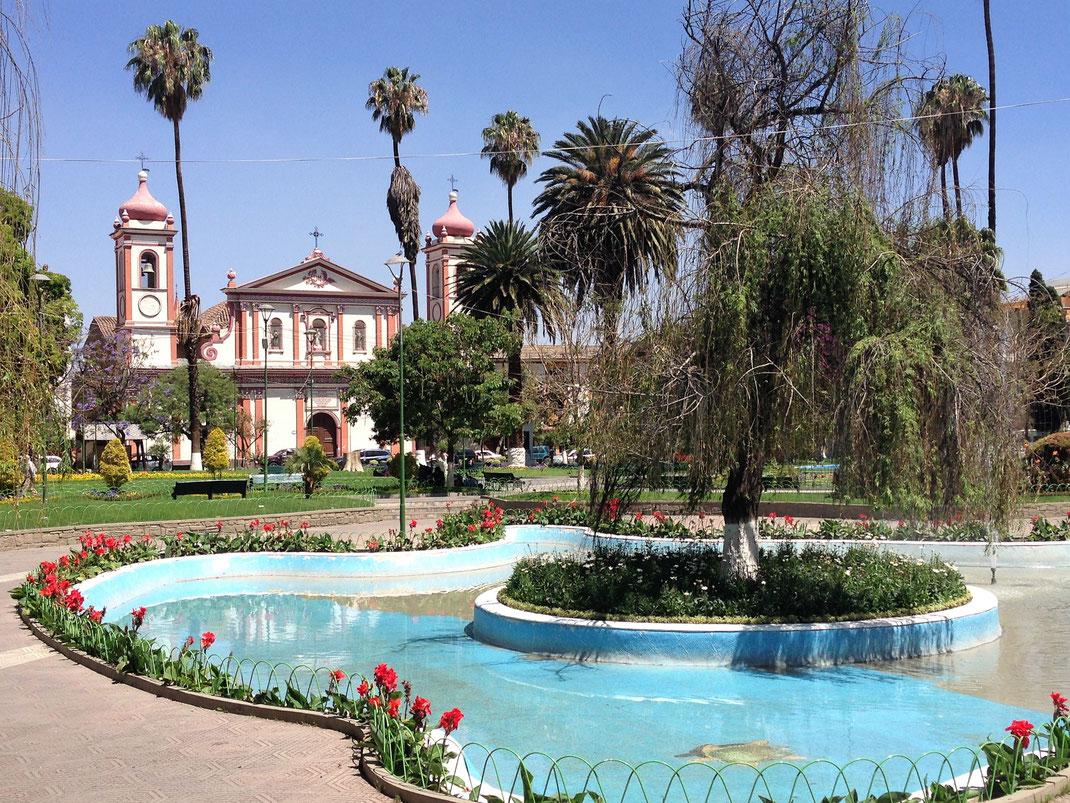 Die Stadt hat wenig echte Highlights - sieht man von der Umgebung ab -, dafür ist sie aber herrlich unprätenziös und sehenswert... Cochabamba, Bolivien (Foto Jörg Schwarz)