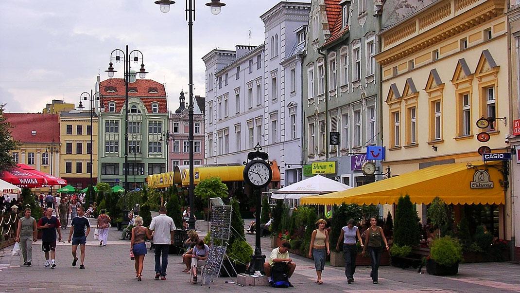 Die Altstadt von Bydgoszcz (Foto Jörg Schwarz)