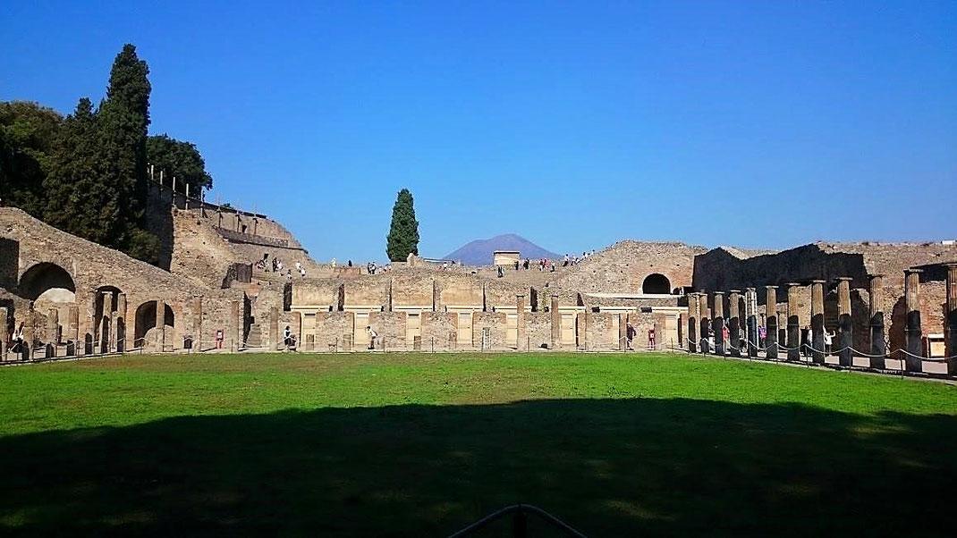 Weltkulturerbe Pompeji (Foto Darius Behrouzi)