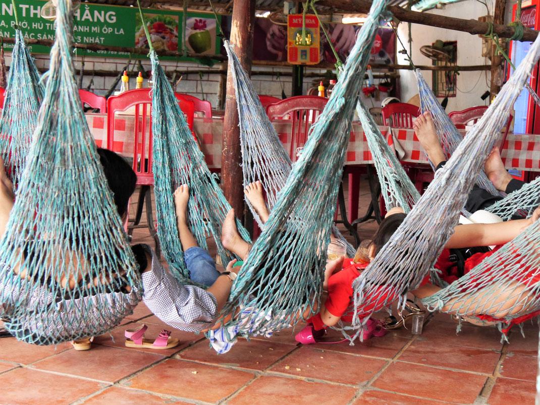 Restaurants bei den Sanddünen von Mui Ne, Vietnam (Foto Jörg Schwarz)
