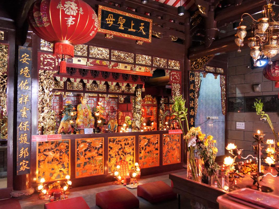 Natürlich gibt es auch in Terengganu mehrere interessante Tempel der chinesischen Taoisten, Terengganu, Malaysia (Foto Jörg Schwarz)