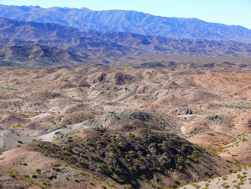 Der Ausblick vom Cerro de El Leoncito ist atemberaubend... Barreal, Argentinien (Foto Jörg Schwarz)