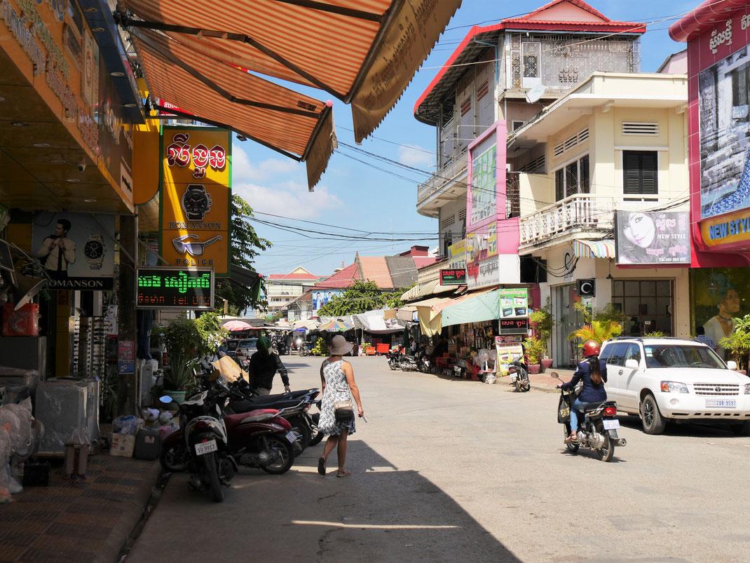 Die Stadt ist eine Mischung aus Alt und Neu aber meist sehr sehenswert... Battambang, Kambodscha (Foto Jörg Schwarz)