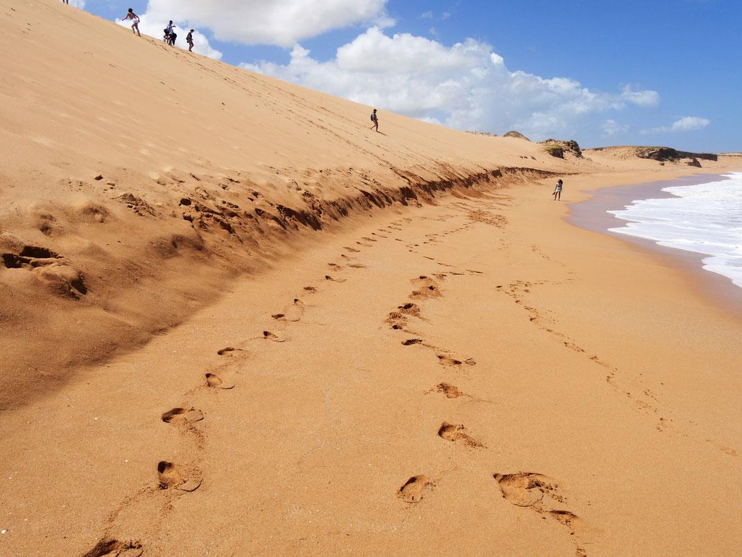 Die herausragenden Dünen von Taroa, bei Punta Gallinas, Guajira-Halbinsel, Kolumbien (Foto Jörg Schwarz)