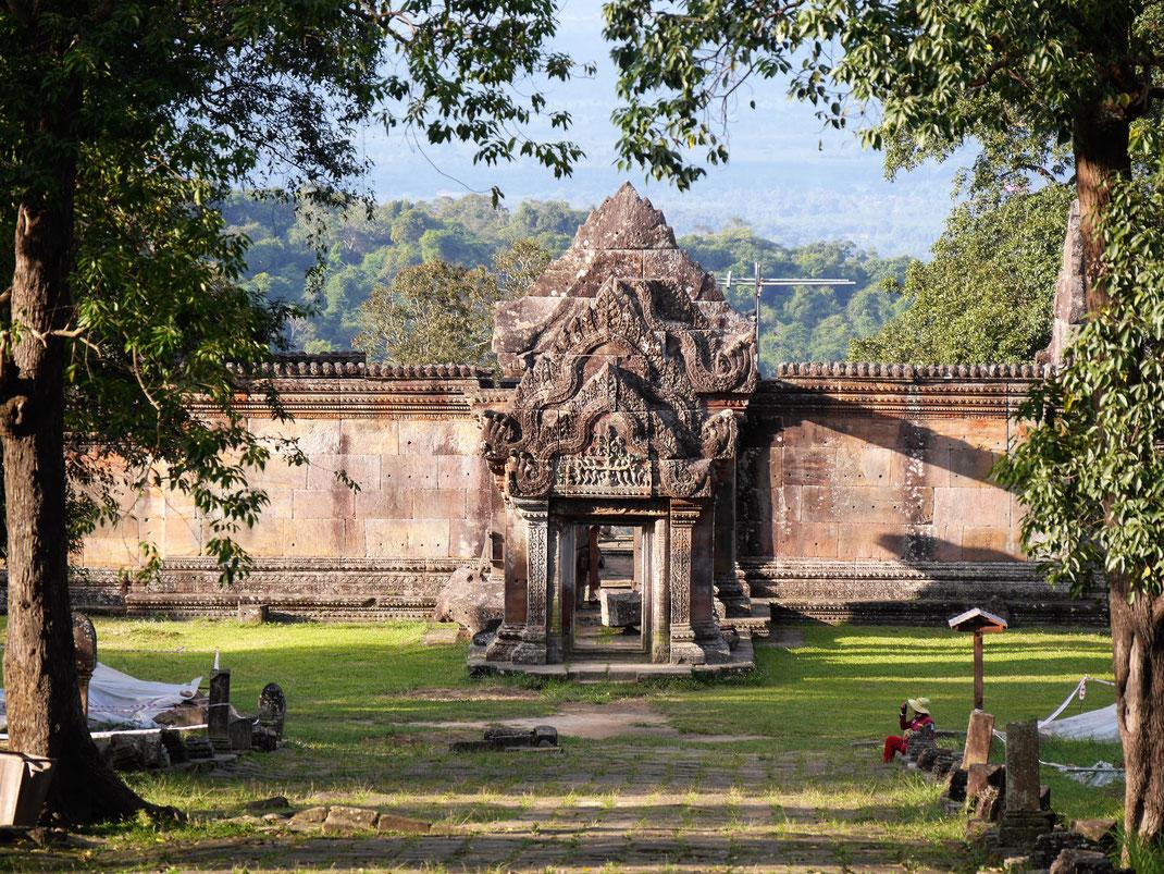 Lage und Architektur dieses wunderschönen Tempels lassen ihn zu einem besonderen Ereignis werden,  Prasat Preah Vihear, Region Preah Vihear, Kambodscha (Foto Jörg Schwarz)