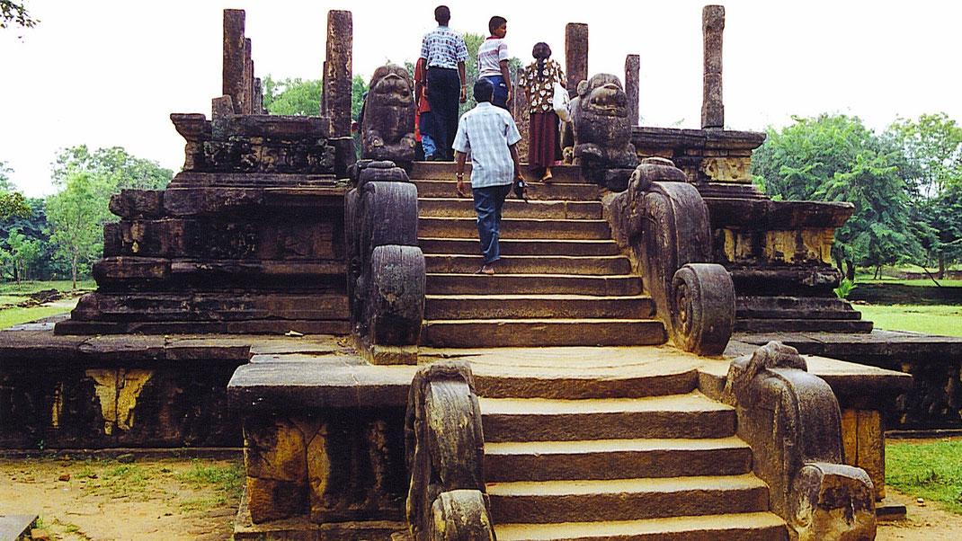 Spurenwechsler Reiseblog Reise TIP BLOG In der Spur Sri Lanka Polonnaruwa, Schwarz Jörg Kultur Highlights