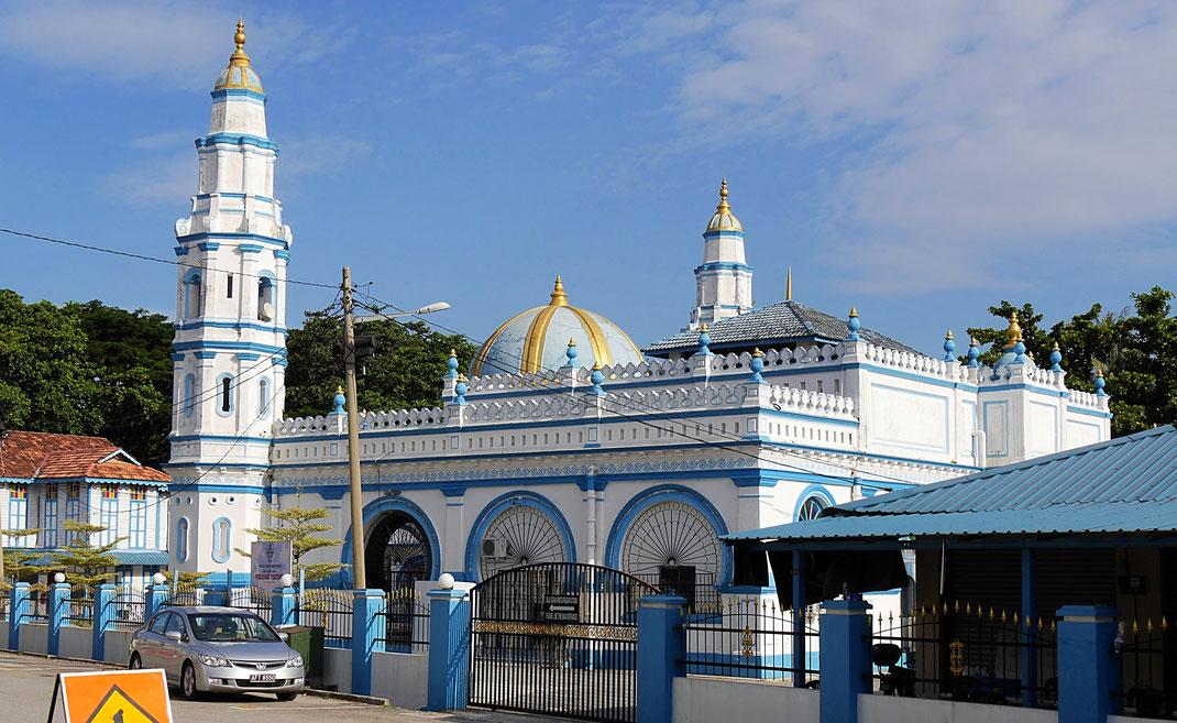 Und noch ne Moschee - die älteste von Ipoh, Ipoh, Malaysia (Foto Jörg Schwarz)