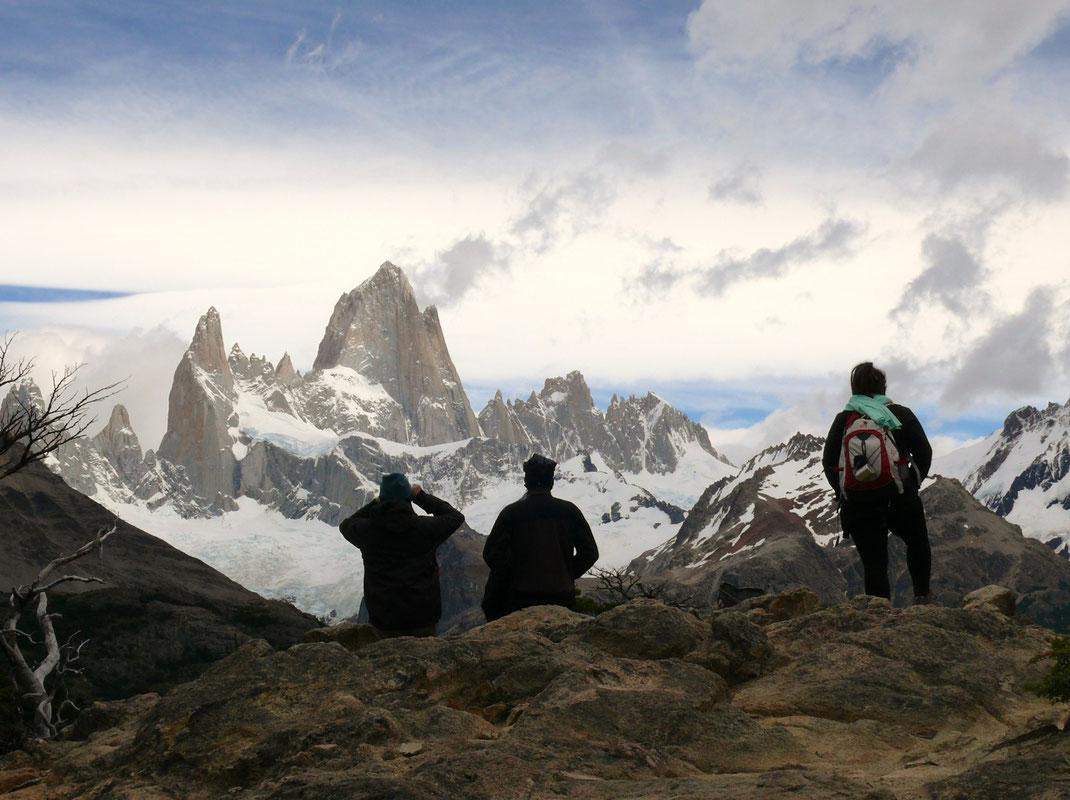 Ausblick auf den Mount Fitz Roy, bei El Chalten (Foto Jörg Schwarz)
