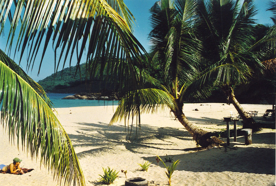 Ein Traum von einem Strand! (Foto Jörg Schwarz)