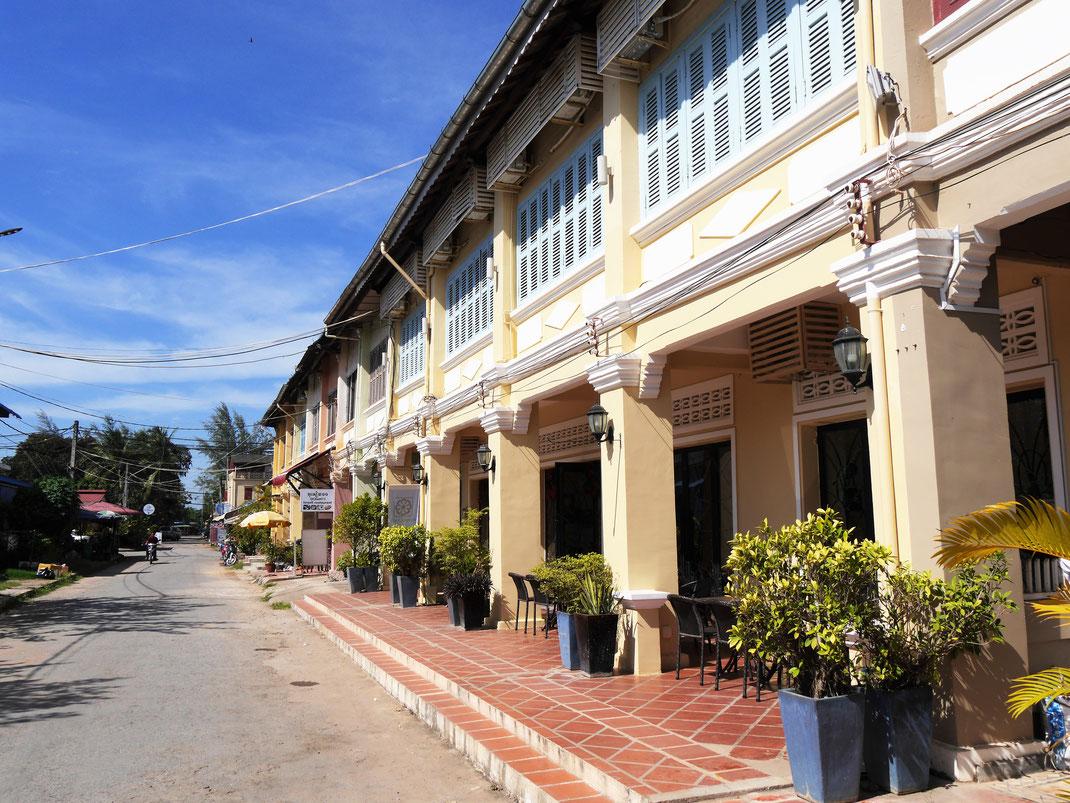 Das schöne Kampot - eine ruhige Kleinstadt mit Flair... Kampot, Kambodscha (Foto Jörg Schwarz)