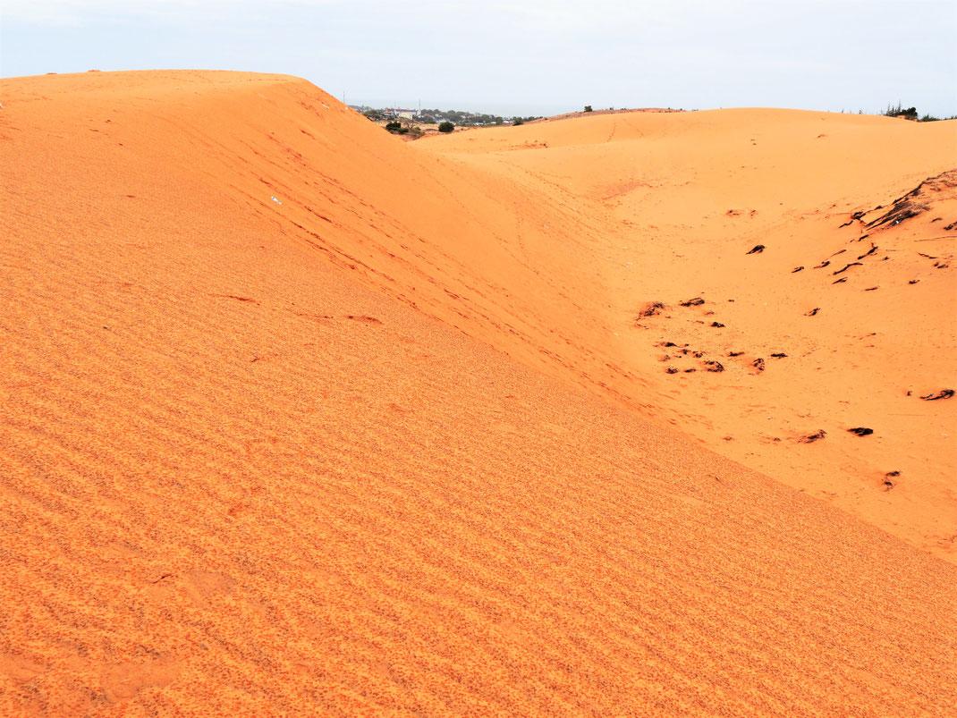 Die roten Sanddünen von Mui Ne im Regen... Mui Ne, Vietnam (Foto Jörg Schwarz)
