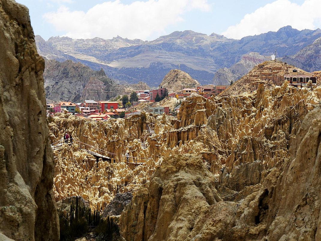 Das 'Valle de la Luna', La Paz, Bolivien (Foto Jörg Schwarz)