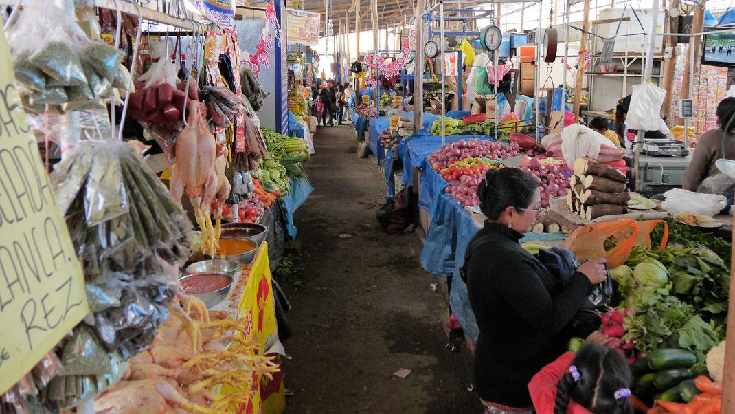 Auf dem Markt in Ayacucho, Ayacucho, Peru (Foto Jörg Schwarz)