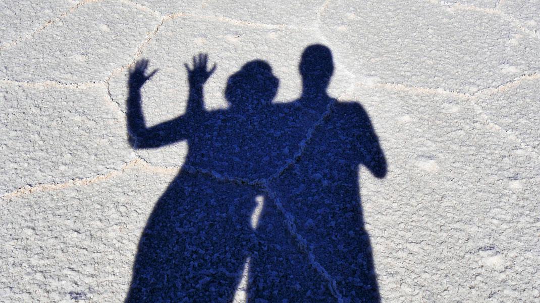 Spuren | WECHSLER: Manchmal auch nur ein Schatten ihrer selbst... Aber das Reisen sollte Substanz haben! Bolivien (Foto Jörg Schwarz)