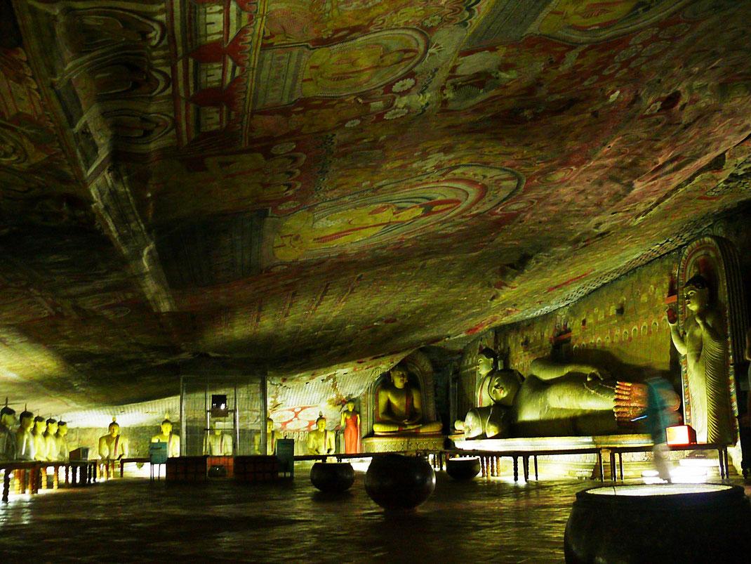 Spurenwechsler Reiseblog Reise TIP BLOG In der Spur Sri Lanka Dambulla Schwarz Jörg Kultur Highlights