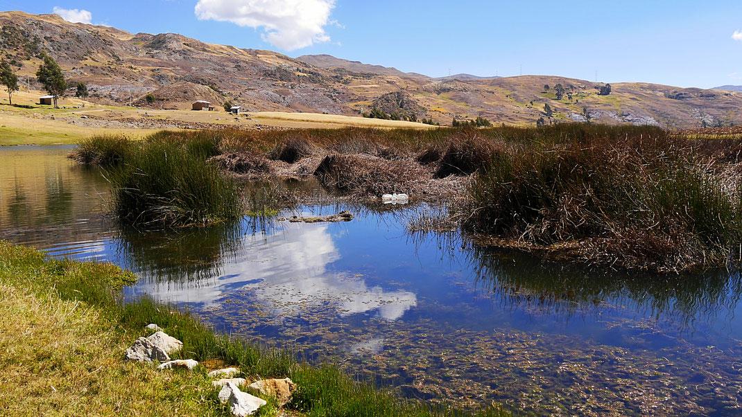 Laguna bei Huaraz, Cordillera Blanca, Peru (Foto Jörg Schwarz)
