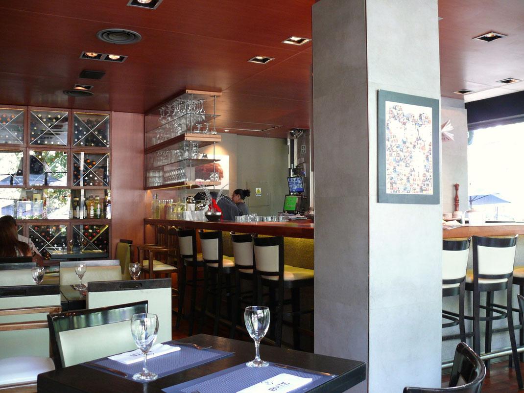 Ob Steak oder Salat oder beides... Die kulinarische Qualität in Mendozas Bars und Restaurants ist groß  (Foto Jörg Schwarz)