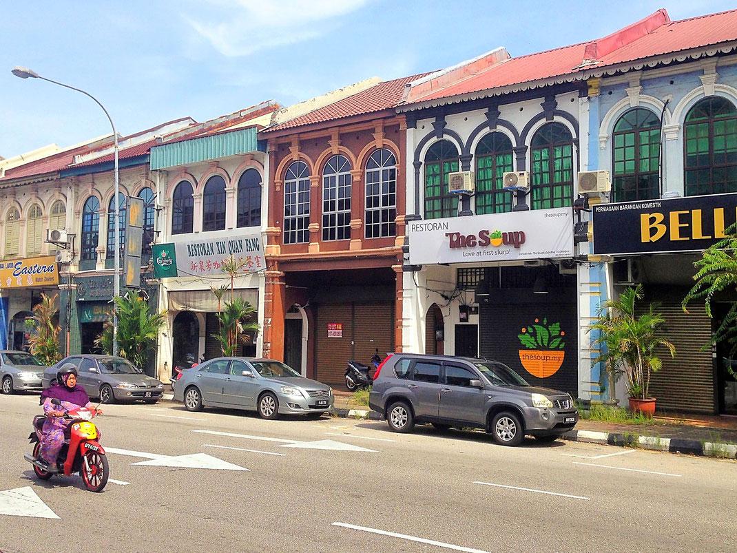 In der Neu- Altstadt... Ipoh, Malaysia (Foto Jörg Schwarz)