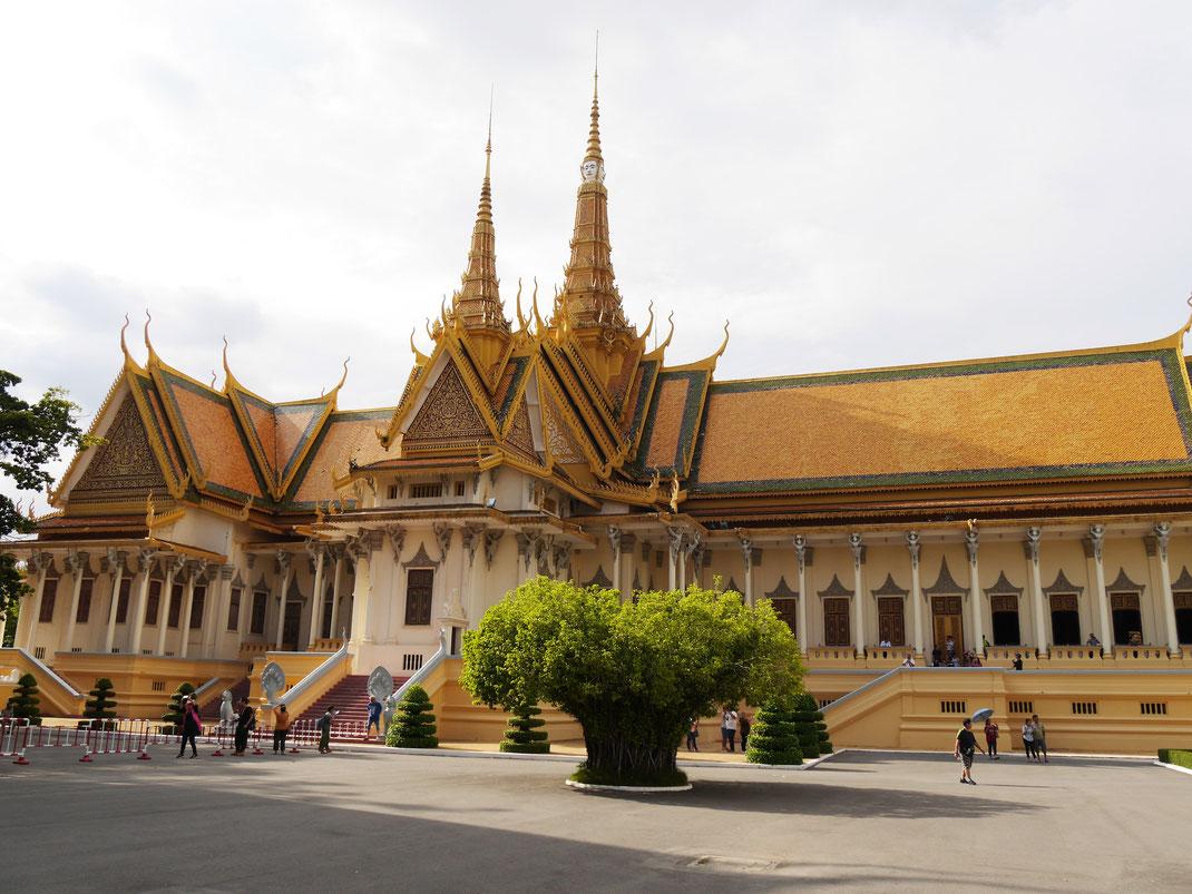 Phnom Penh ist einerseits voller Sehenswürdigkeiten..., Phnom Penh, Kambodscha (Foto Jörg Schwarz)
