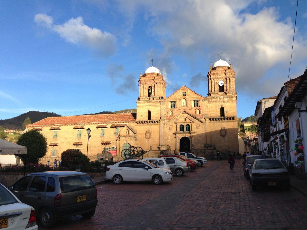 Auch der kleine Kolonialort Mongui ist en optisches Vergnügen... Mongui, Kolumbien (Foto Jörg Schwarz)