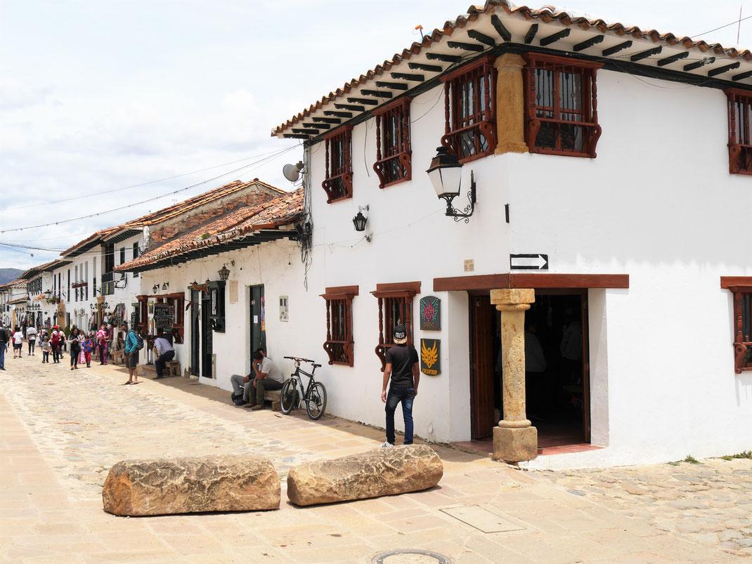 Wundervolle alte Architektur: Einfach aber schön! Villa de Leyva, Kolumbien (Foto Jörg Schwarz)