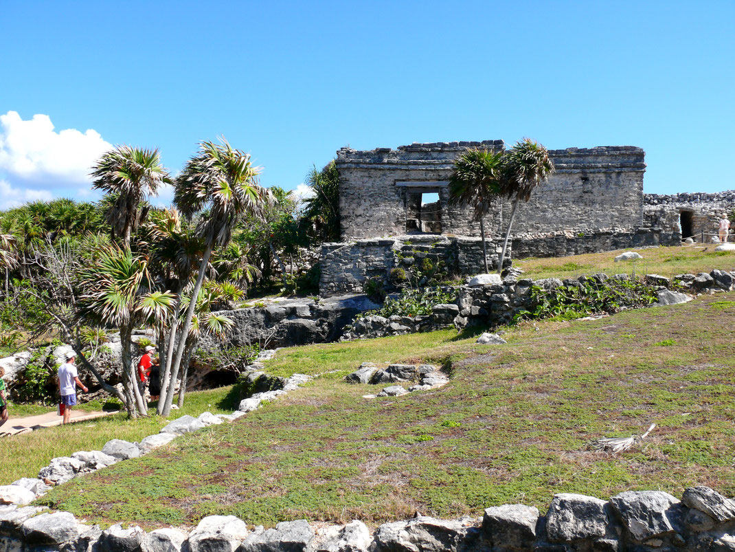 Die Ruinen von Tulum sind einfach attraktiv und ein Besucher-Muss (Foto Jörg Schwarz)